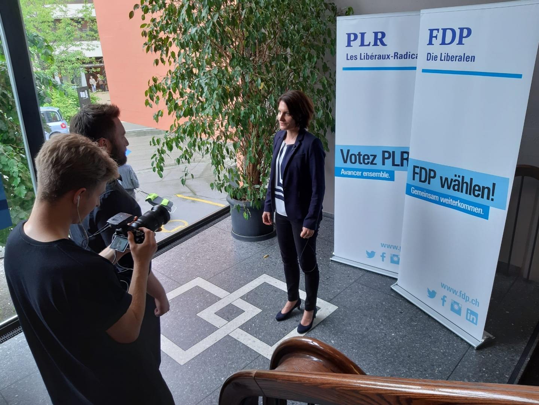 6.01.2021 Onlinereports «Baselbieter FDP-Präsidentin Saskia Schenker: Rücktritt»