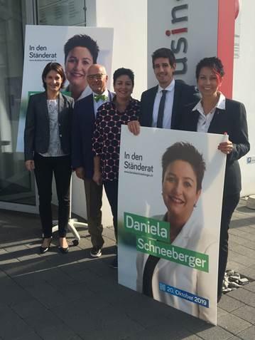 29.08.19 OBZ «Bürgerliche Unterstützung für Daniela Schneeberger»