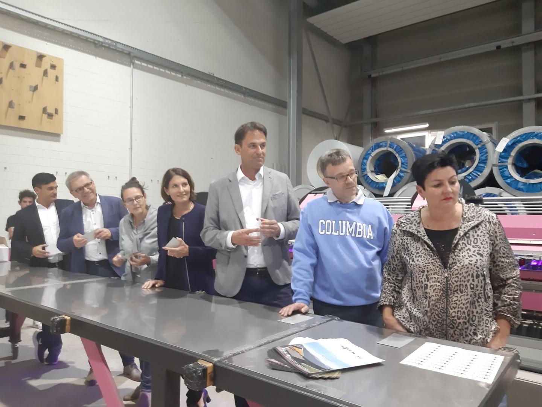 8.10.19 Volksstimme «Betriebsbesichtigung bei der Ridem AG, Bubendorf»