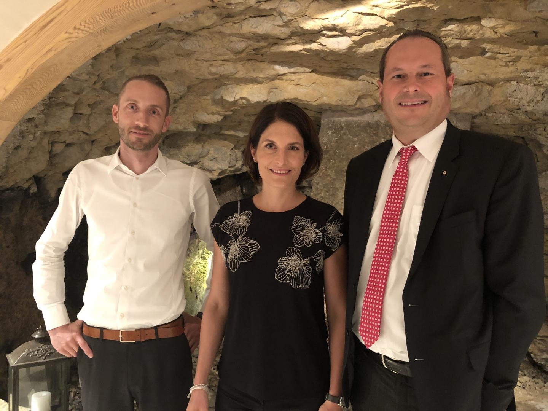 15.10.19 Volksstimme «Blick hinter die Kulissen mit der FDP-Parteipräsidentin»