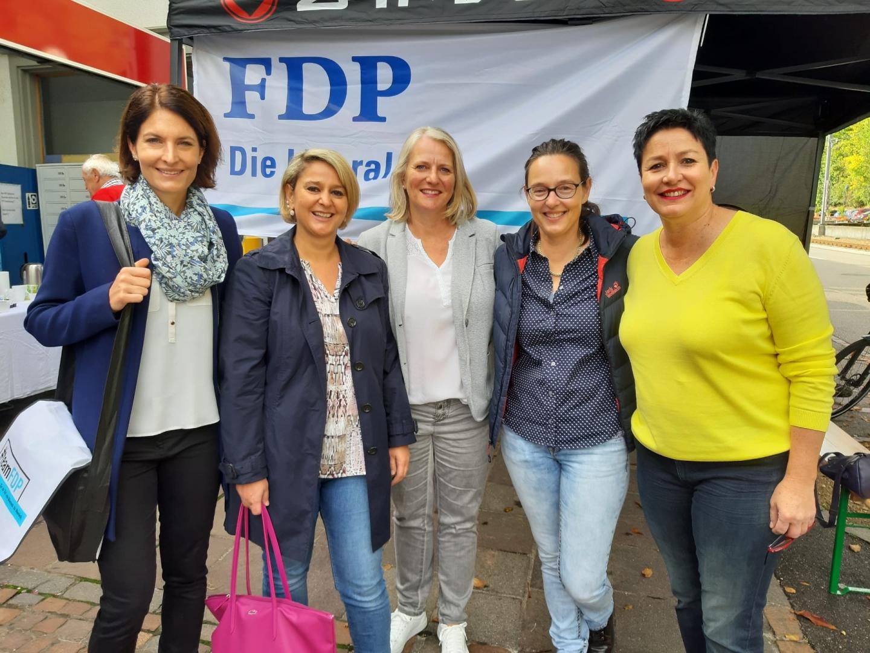 15.10.19 Volksstimme «FDP verteilt Kaffi und Gipfeli»