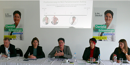 """4.11.19 Onlinereports «FDP: """"Maya Graf steht politisch ganz links aussen""""»"""