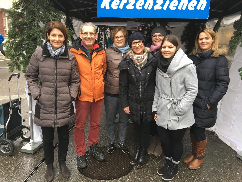 3.01.20 Volksstimme «Bunte Kerzen am Sissacher Sonntagsverkauf»